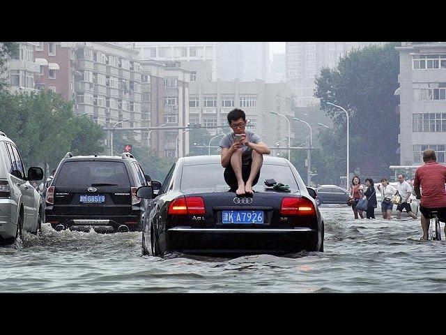 Китай затоплен сильнейшими за 100 лет дождями