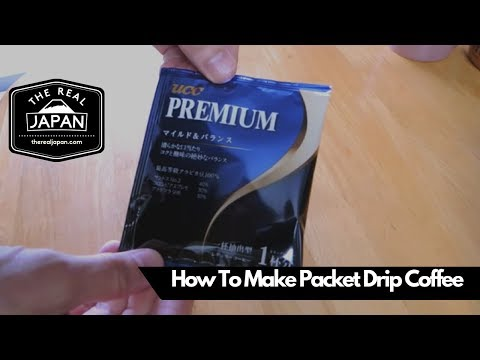 How To Make Packet Drip Coffee | The Real Japan | HD
