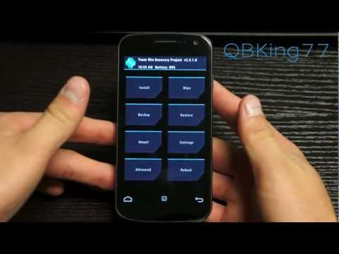 How to Install/Update TWRP Recovery on the Samsung Galaxy Nexus
