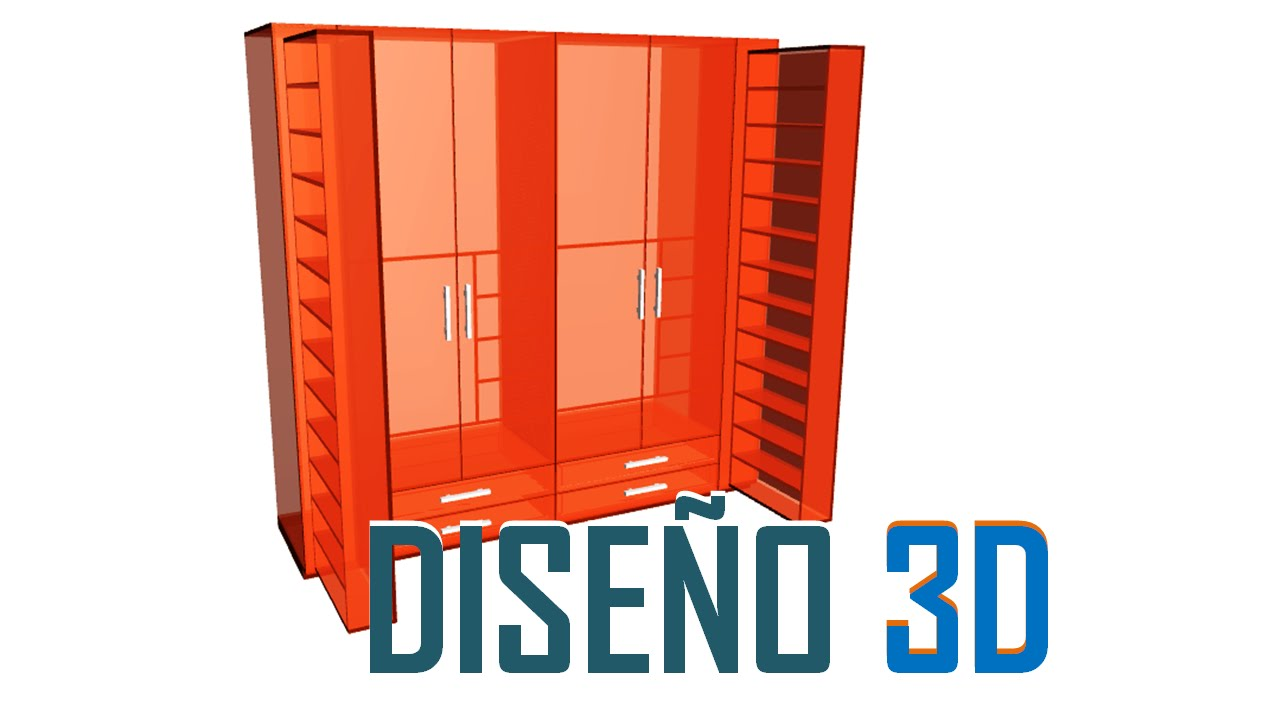 Mega software para el dise o y desglose de muebles closet for Diseno de muebles software