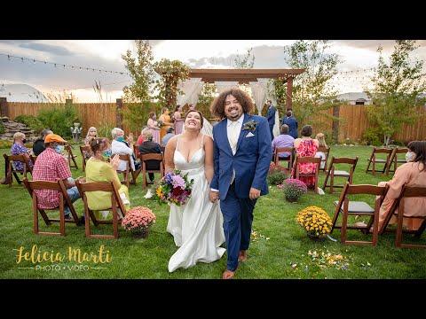 Intimate Garden Wedding at Balistreri Vineyard in Denver, CO