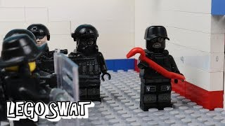 Lego SWAT - The Bank Robbery / The Bank Truck Robbery / Lego SWAT     Best Lego SWAT videos