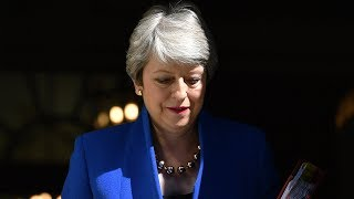 Watch live: Theresa May gives statement before Boris Johnson becomes U.K. prime minister