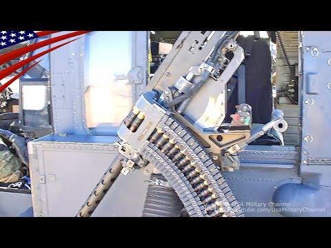 GAU-18重機関銃(12.7mm)の準備 - HH-60Gペイブ・ホーク