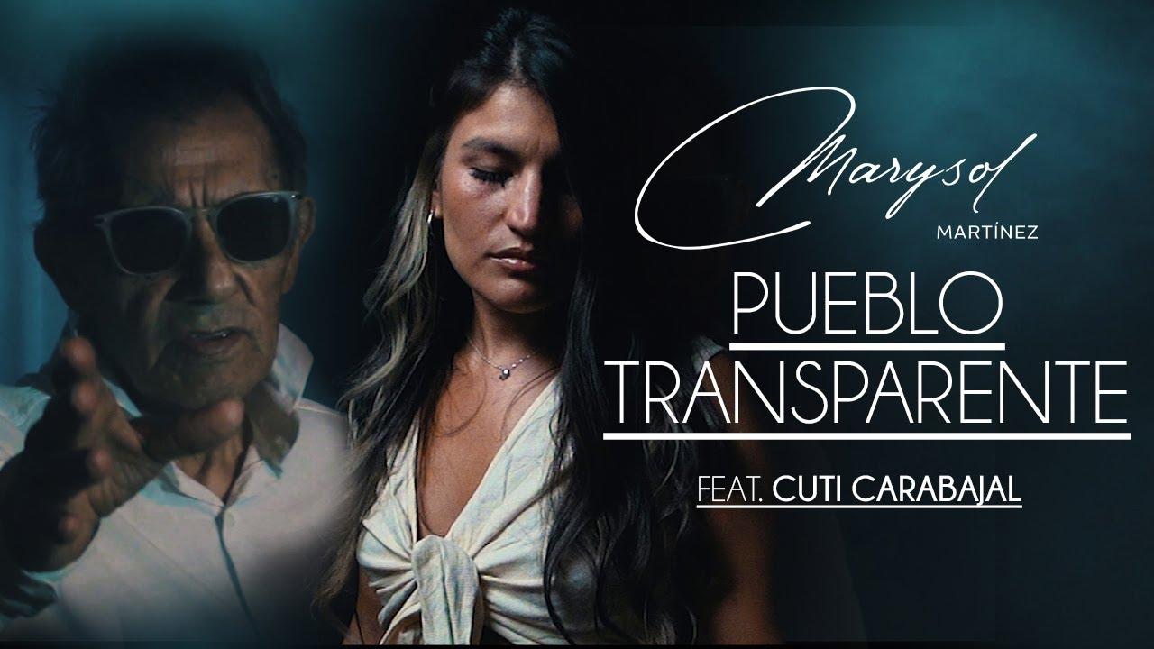 """Mirá el videoclip """"Pueblo Transparente"""" de Marysol Martínez junto a Cuti Carabajal"""