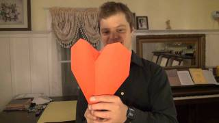 How To Balance An Origami Heart