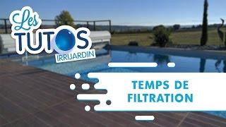 Quel temps de filtration pour la piscine ?