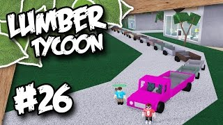 Lumber Tycoon 2 #26 - LONGEST TRAILER SNAKE EVER w/Locus (Roblox Lumber Tycoon)
