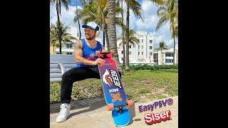 EasyPSV® de Siser en una patineta! Miami Beach!