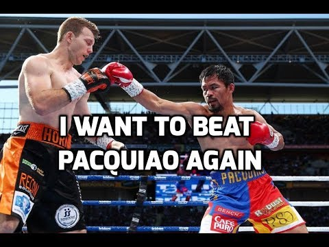 JEFF HORN SAYS HE WANTS TO BEAT MANNY PACQUIAO AGAIN