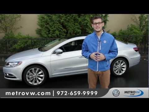 2013 Volkswagen CC Walk-around | Metro VW - Dallas Volkswagen dealer