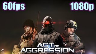 Act of Aggression Beta Gameplay - RTS Strategy C&C Generals Inspired PC Game 1080p 60fps
