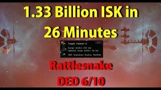 DED 6/10 Sansha 1.33 Billion ISK in 26 Minutes - EVE Online