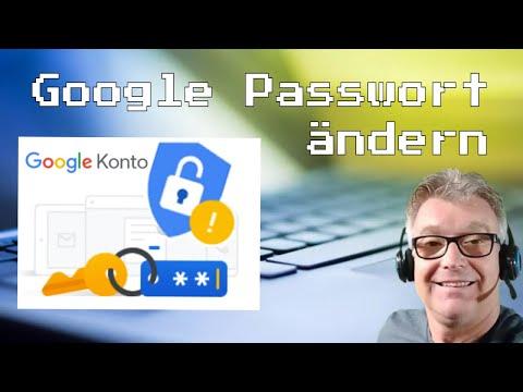 So ändern Sie Ihr Google Passwort