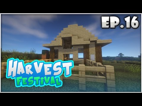 Harvest Festival EP.16 | เรามาสร้างเล้าไก่กันเถอะ!! (Minecraft Harvest Moon)