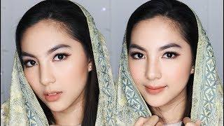 Video Gold x Burgundy Makeup Tutorial for Idul Fitri | Eid | Lebaran | Ramadhan download MP3, 3GP, MP4, WEBM, AVI, FLV Oktober 2017