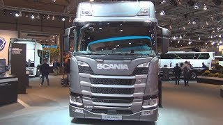 Scania R 500 A4x2EB Tractor Truck (2019) Exterior and Interior