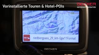 Motorrad Navi BECKER mamba: Immer eine Kurve voraus mit dem neuen Motorradnavi (GPS)