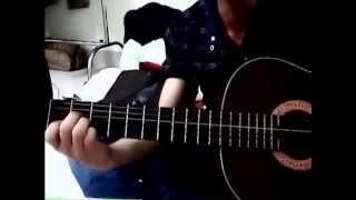 Con tim đang cố quên - Jimmy Nguyễn Guitar cover