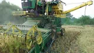 paddy harvesting machine in india