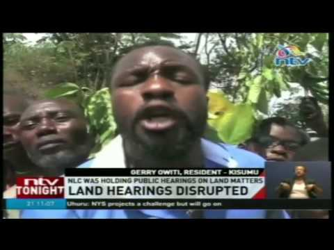 Youth disrupt NLC hearing demanding land compensation