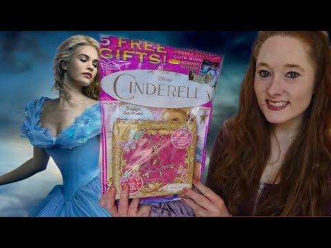 *ASMR* Soft-Spoken Leafing through the Cinderella magazine! | Amy McLean