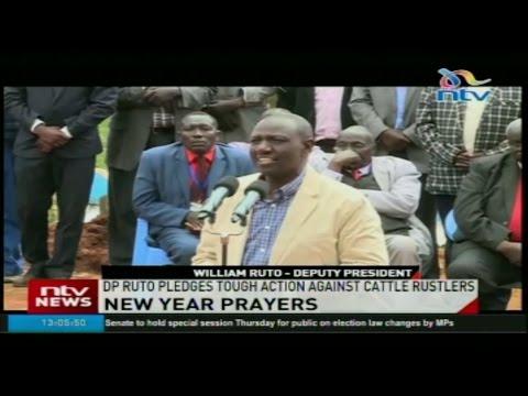 DP Ruto pledges tough action against cattle rustlers