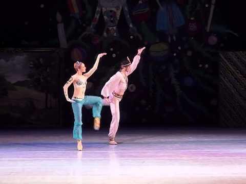 "Kiev Ballet P. Tchaikovsky  ""The Nutcracker""  (East Dance)  Vasilieva A.,Ivashchenko V."