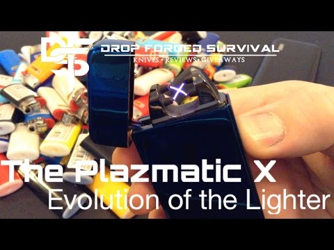 Plazmatic X Lighter - USB Rechargeable Plasma Lighter - EDC - Every Day Carry