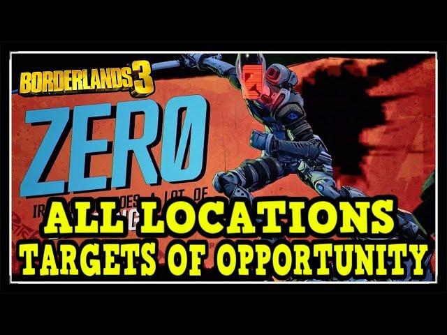 Video Borderlands 3 All Zer0 S Targets Of Opportunit