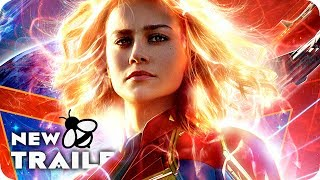 CAPTAIN MARVEL Trailer 2 (2019) Marvel Movie
