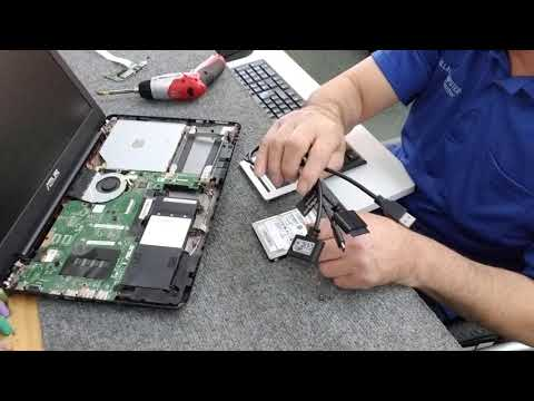 Asus Laptop SSD Upgrade