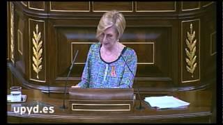 """Rosa Díez: """"A un primer ministro que miente en sede parlamentaria no le considero mi presidente"""""""