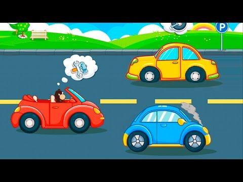 Мультики Мультфильмы для детей Автосервис и безопасность на дороге.  Мультики про машинки Все серии