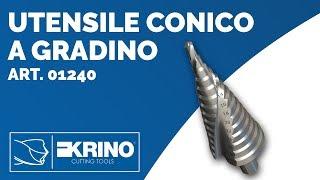 Utensile Conico a Gradino art. 01240 - Krino Tools