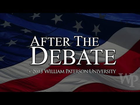 After the Debate 2013