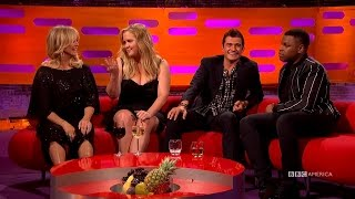 John Boyega and Goldie Hawn Swap Awkward Date Stories  The Graham Norton Show