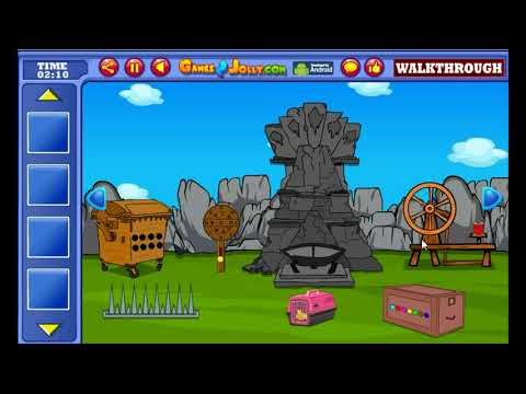 Yellow Rooster Rescue Walkthrough - Games2Jolly