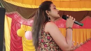 Anjusha Sharma Performance at Vill.Sandhar teh. Basholi