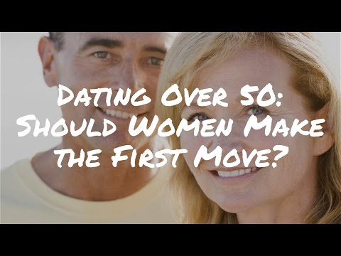50 Plus Dating: Should Older Women Learn How to Make the First Move?