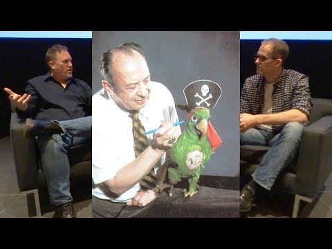 Pete Docter and Chris Merritt on new Disney Imagineering book