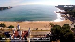 Platja de Sant Pol - Sant Feliu de Guíxols #InCostaBrava