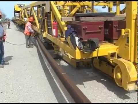Railways Track Construction Machine
