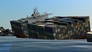 [60FPS] Ship Simulator Extremes | Vermaas sinks like Titanic, Britannic and Poseidon!