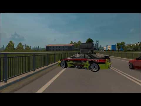Еду из Могилёва в Бобруйск в Euro Truck Simulator 2 + руль - YouTube