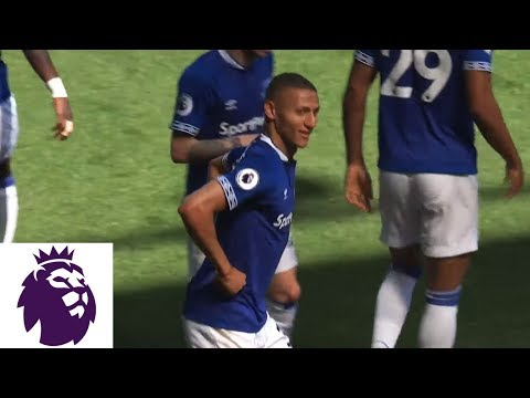 Richarlison scores creative overhead kick against Man United | Premier League | NBC Sports