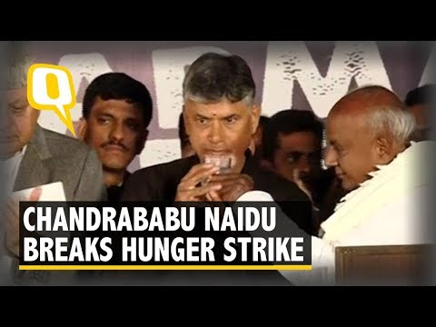 I'm Here to Remind the Govt of its Promise: Chandrababu Naidu | The Quint