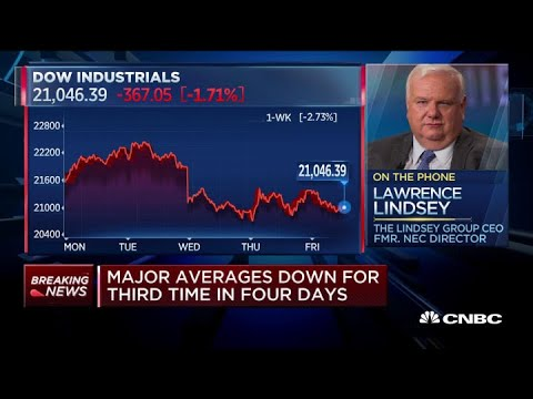 Larry Lindsey On Dangers Of High Unemployment