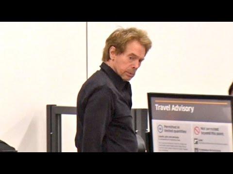 Producer Jerry Bruckheimer Goes Through LAX TSA