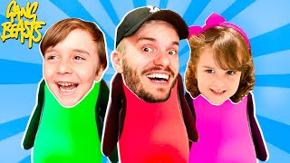 BRANCOALA vs MARCOS vs LAURA no GANG BEASTS - Brancoala Games